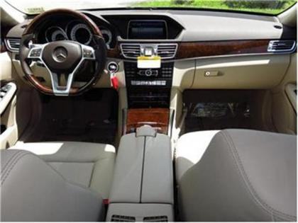 2014 MERCEDES BENZ E350 BASE - BLACK ON BEIGE 4