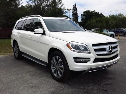 2014 MERCEDES BENZ GL450 4MATIC - WHITE ON BEIGE