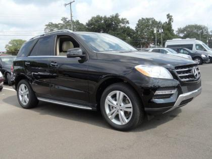 2014 MERCEDES BENZ ML350 BASE - BLACK ON BLACK