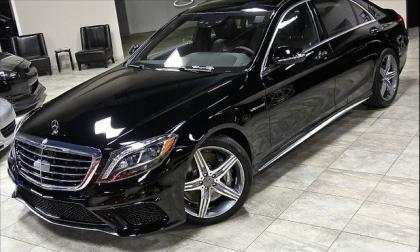 2014 MERCEDES BENZ S63 AMG - BLACK ON BLACK 1