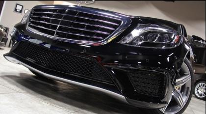 2014 MERCEDES BENZ S63 AMG - BLACK ON BLACK 2