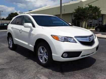 2015 ACURA RDX TECH PACKAGE - WHITE ON BEIGE 1