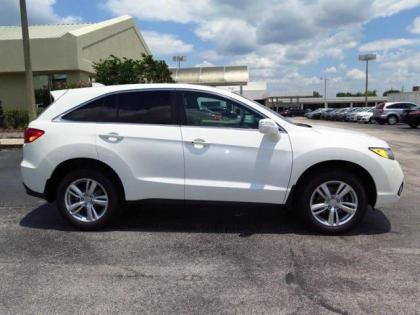 2015 ACURA RDX TECH PACKAGE - WHITE ON BEIGE 2