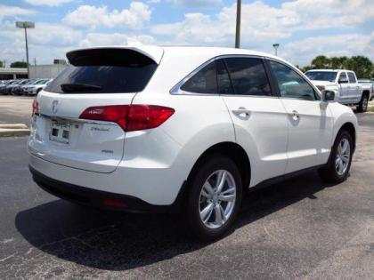 2015 ACURA RDX TECH PACKAGE - WHITE ON BEIGE 3