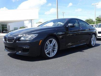 2015 BMW 640 I GRAN COUPE - BLACK ON BLACK 1