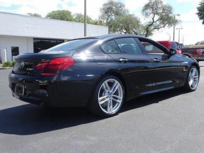 2015 BMW 640 I GRAN COUPE - BLACK ON BLACK 3