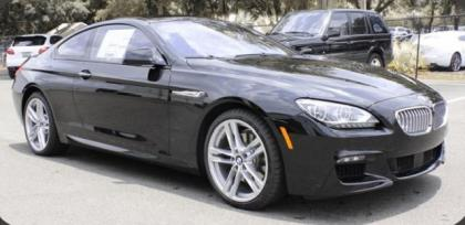 Export New 2015 BMW 650 ! - BLACK ON BLACK