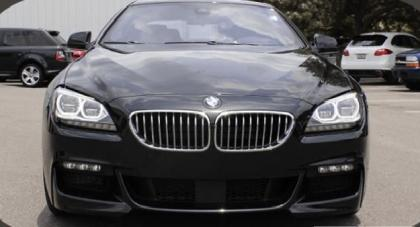 2015 BMW 650 ! - BLACK ON BLACK 2
