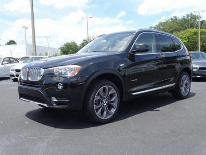 2015 BMW X3 XDRIVE28I - BLACK ON BLACK