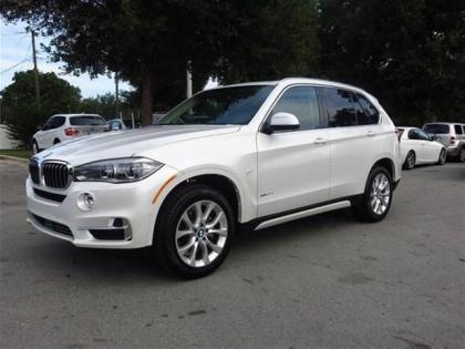 2015 BMW X5 XDRIVE35I - WHITE ON BROWN
