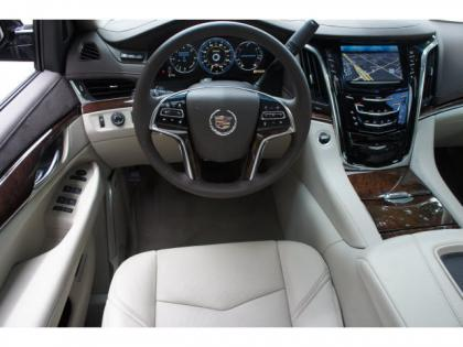 2015 CADILLAC ESCALADE LUXURY - BLACK ON BLACK 4