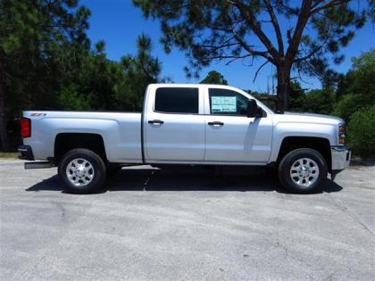2015 CHEVROLET SILVERADO 2500HD - SILVER ON BLACK 2