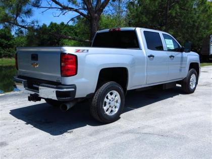 2015 CHEVROLET SILVERADO 2500HD - SILVER ON BLACK 3