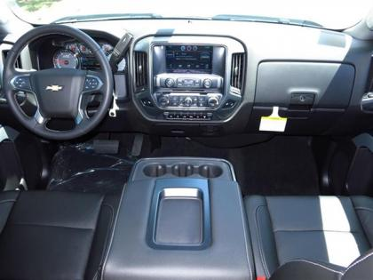 2015 CHEVROLET SILVERADO 2500HD - SILVER ON BLACK 4