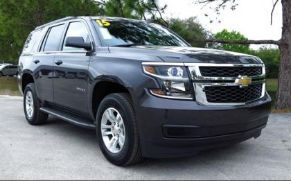 2015 CHEVROLET TAHOE LS - BLACK ON BLACK 1