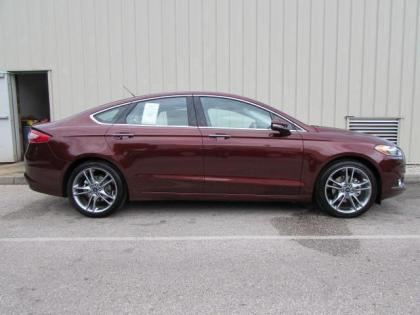 2015 FORD FUSION TITANIUM - RED ON BEIGE 3