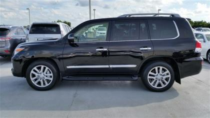2015 LEXUS LX570 BASE - BLACK ON BEIGE 2