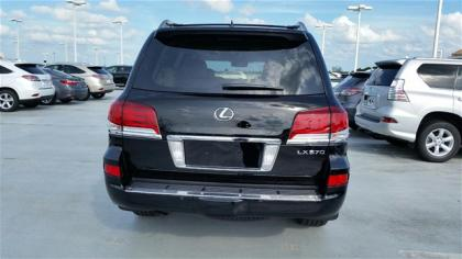 2015 LEXUS LX570 BASE - BLACK ON BEIGE 3