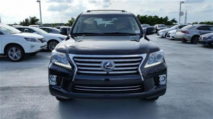 2015 LEXUS LX570 BASE - BLACK ON BEIGE 4