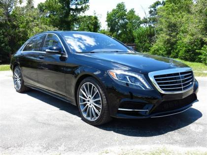 2015 MERCEDES BENZ S550 BASE - BLACK ON BLACK