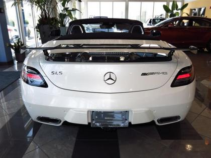 2015 MERCEDES BENZ SLS AMG - WHITE ON BLACK 2