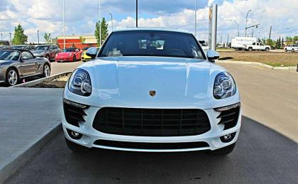 2015 PORCHE MACAN S - WHITE ON BLACK