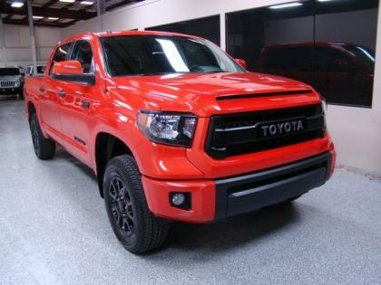 2015 TOYOTA TUNDRA 4WD TRD - RED ON BLACK