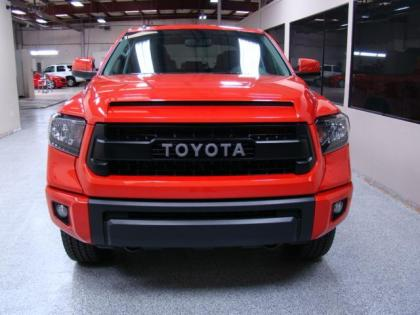 2015 TOYOTA TUNDRA 4WD TRD - RED ON BLACK 2