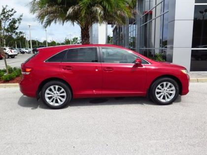 2015 TOYOTA VENZA LE - RED ON BEIGE 2