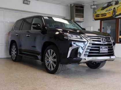 2017 LEXUS LX570 BASE - BLACK ON BLACK