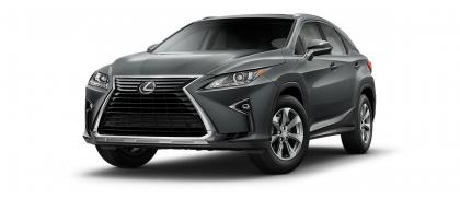 2017 LEXUS RX350 BASE - GREY ON BLACK