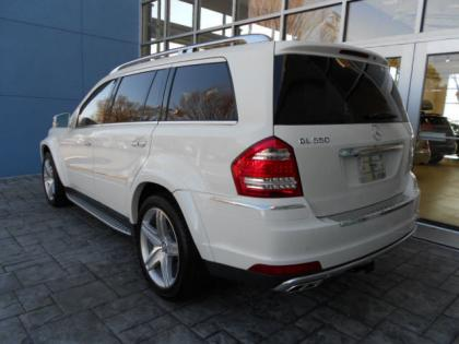 2012 MERCEDES BENZ GL550 4MATIC - WHITE ON CASHMERE 1