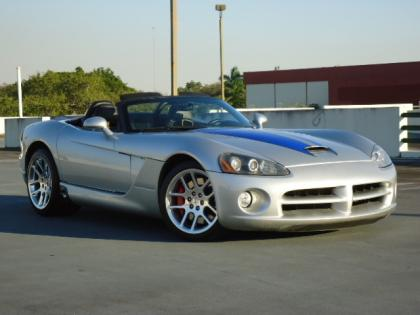 2004 DODGE VIPER SRT-10 - SILVER ON BLACK