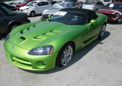 2008 DODGE VIPER SRT-10 - GREEN ON BLACK 2
