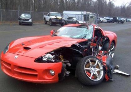 Export Salvage 2009 Dodge Viper Srt 10 Red On Black