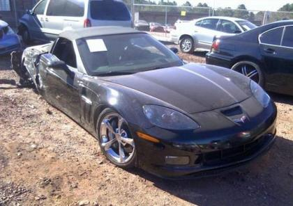 2011 CHEVROLET CORVETTE GRAND SPORT - BLACK ON BLACK 1