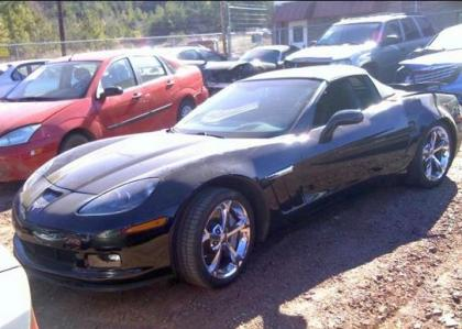 2011 CHEVROLET CORVETTE GRAND SPORT - BLACK ON BLACK 2