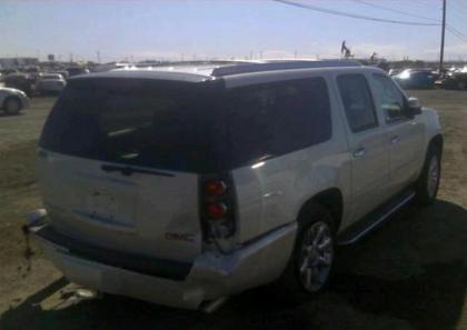 2013 GMC YUKON DENALI XL - WHITE ON BEIGE 4