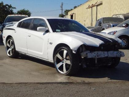 2011 DODGE CHARGER SXT - WHITE ON GRAY 1