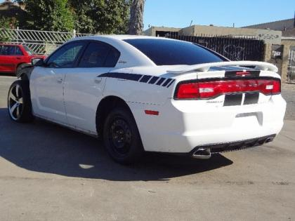 2011 DODGE CHARGER SXT - WHITE ON GRAY 5