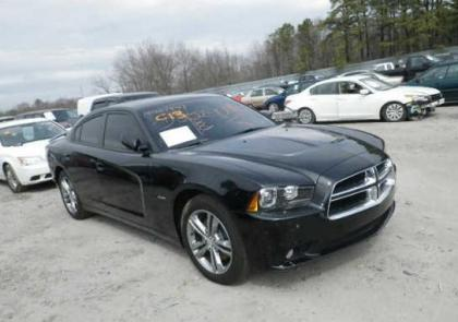 2013 DODGE CHARGER R/T AWD - BLACK ON BLACK