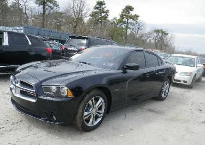 2013 DODGE CHARGER R/T AWD - BLACK ON BLACK 2
