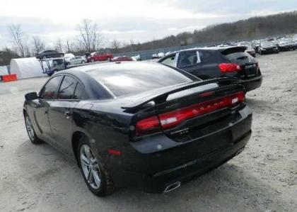 2013 DODGE CHARGER R/T AWD - BLACK ON BLACK 3