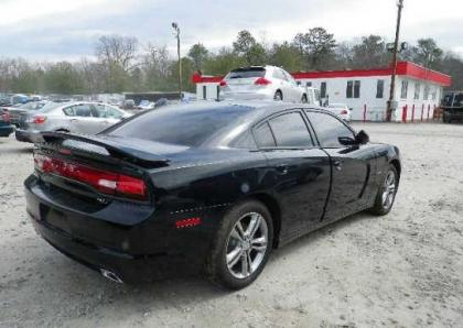 2013 DODGE CHARGER R/T AWD - BLACK ON BLACK 4