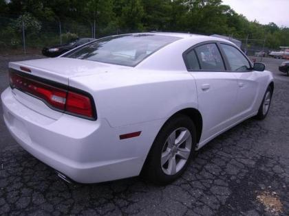 2013 DODGE CHARGER SXT - WHITE ON BEIGE 3