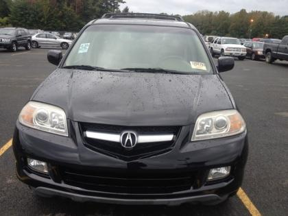 2006 ACURA MDX AWD - BLACK ON BEIGE