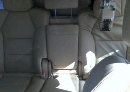 2012 ACURA MDX AWD - WHITE ON BEIGE 7