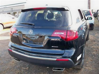 2012 ACURA MDX AWD - BLACK ON BLACK 3