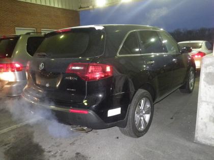 2013 ACURA MDX TECH PKG - BLACK ON BLACK 2