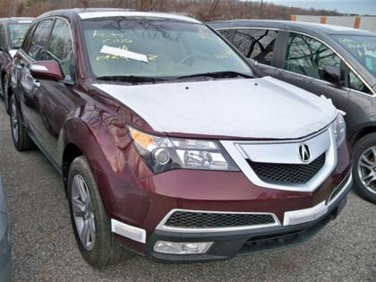 Acura 2013  on Export Salvage 2013 Acura Mdx Technology Package   Red On Beige